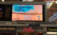 DOOH lends muscle to OOH growth in UK