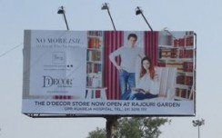 D'décor steps out to promote new store launch in Delhi
