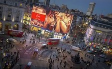 UK's Ocean unveils Piccadilly Lights Transformation
