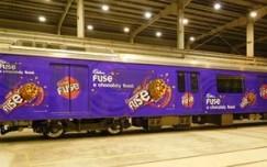 Cadbury Fuse'chocolate train' promises a chocolaty feast