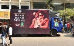 Zee Cinema' enthralls OOH audience with Bar Bar Dekho's'Kala Chashma'