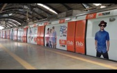 FBB makes a fashion statement on Delhi Metro Line III