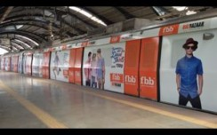 FBB makes a fashion statement on Delhi Metro Line III