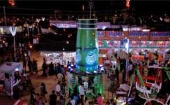 Dabur's 22ft Pudin Hara bottle a show stealer at UP's Nauchandi Mela