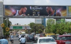 NBA marks spectacular presence in the outdoor