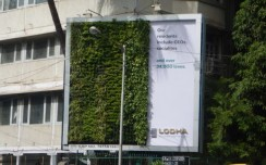 Lodha Group observes World Environment Day with a unique billboard garden