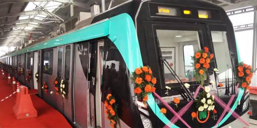 Noida Metro line draws strong brand interest