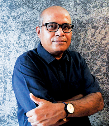 Provas Kumar Ghosh, Founder & Director<br>Sai Hitech Advertising