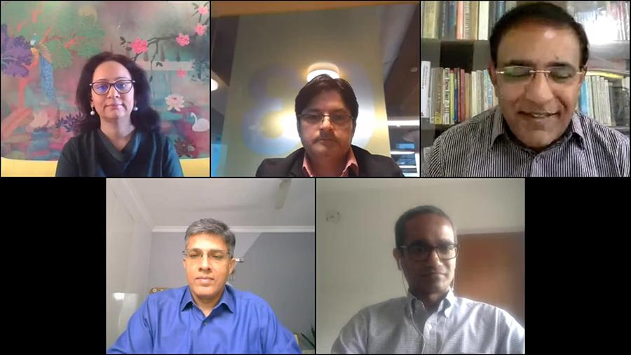 Clockwise from Top: VInkoo Chakraborty; Fabian Cowan; Rajiv Raghunath; Aman Nanda; Shoumitro Goswami